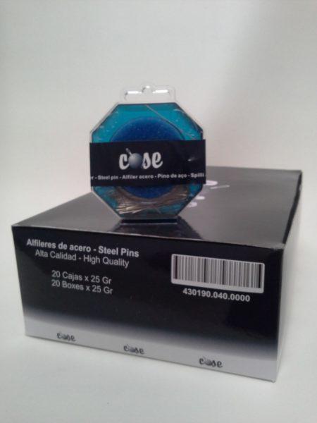 """ALFILERES DE ACERO 430190 """"COSE"""""""