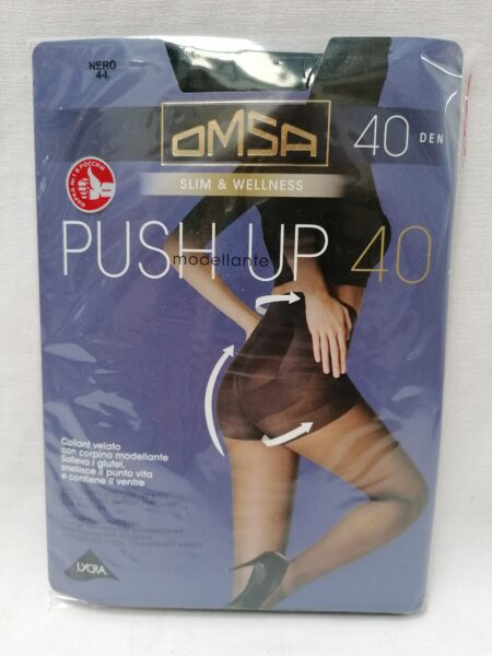 PANTY OMSA PUSH UP 40 DN MODELANTE